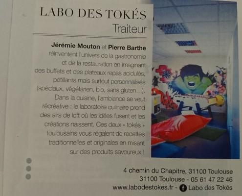 Parution Elle Magazine Février 2017